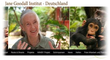 Jane Goodall hat den Ehrenpreis des Deutschen Nachhaltigkeitspreises 2018 erhalten - unser Freudensprung der Woche!