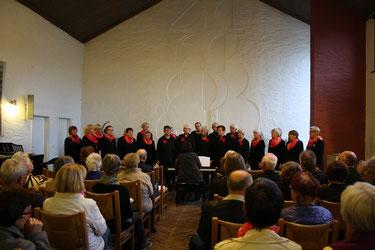 Konzert in der ev. Kirche in Prohlis beim Hanns-Eisler-Chor
