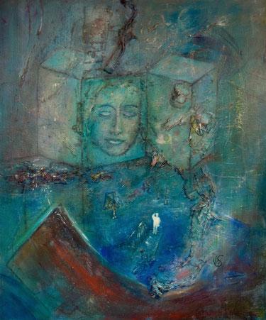 BDL 1722, ÖL auf Leinwand 120 x 100 cm