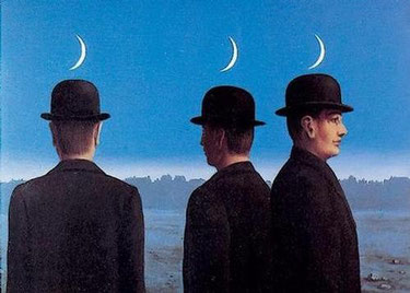 ルネ・マグリット《地平線の神秘》