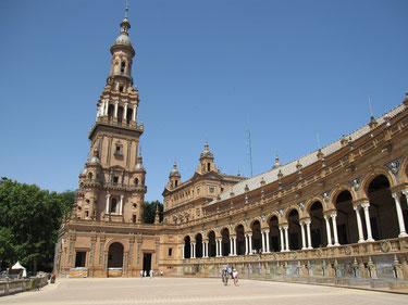 """Wunderschöne """"Plaza de Espana"""" in Sevilla"""
