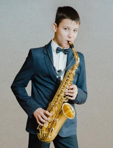 Vladimir Petskus, Saxophon