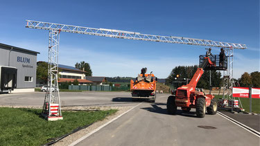 18 Meter Kabelbrücke