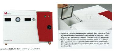 CL2E, Hochdruckeinheit, Hochdruckanlage