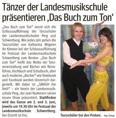 Bezirksrundschau Perg 2. Juni 2010