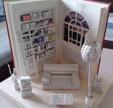 Bücherkunst / book art