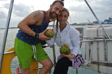 Moni & Dominik, 10.-12.4.14, Palm Beach/Florida