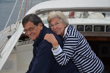 Geert & Anna, 4.-12.8.14, Caledonian Canal/Schottland