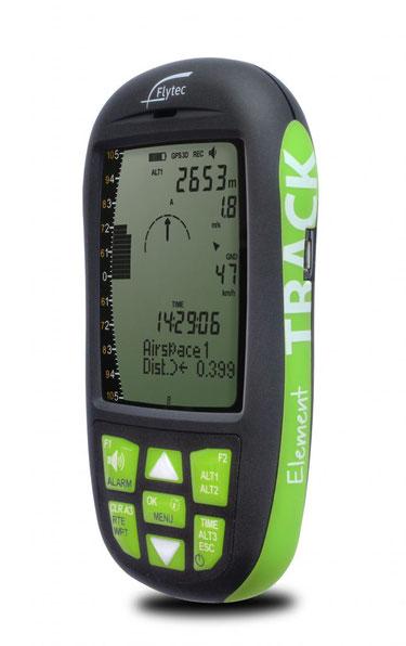 Alti vario gps et navigateur pour la compétition Flytec Track