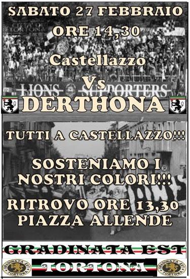 2015-16 CASTELLAZZO BORMIDA - DERTHONA