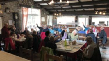Marcheurs et randonneurs de Randos Canétoises randonneront puis prendront le repas au restaurant Vidal à Fitou  le 2 mars 2018