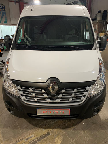 Alarmanlage für Renault Master