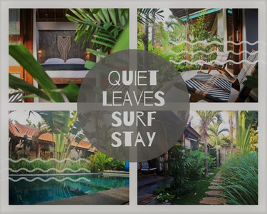 Quiet Leaves Surf Stay Bali Surfretreat Surf Camp
