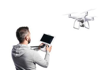 Sicherer Drohneneinsatz - mit dem DSD Sicherheitsdienst.