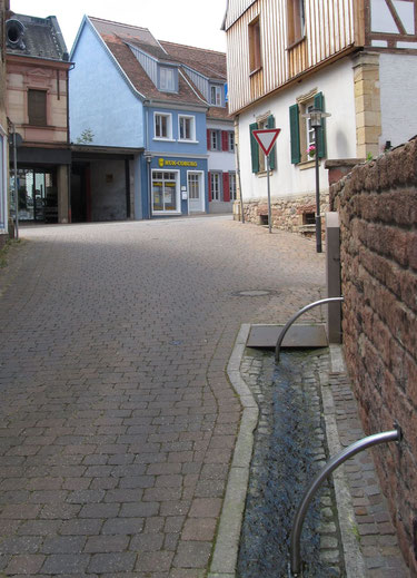 2013,  Ehemaliger Standort des Lochbrunnens