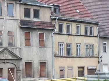 Häuser in der Altstadt, Leerstand