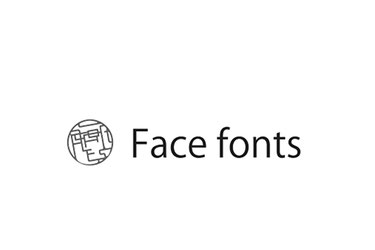 Face Fonts(フェイスフォント)