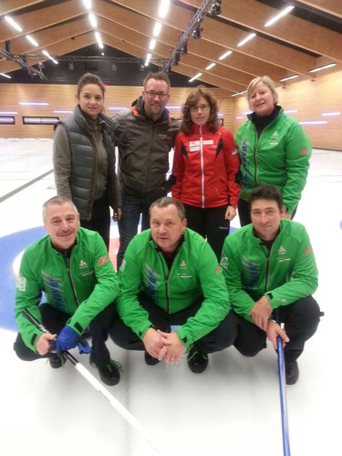Team Laurent-Perrier / Mirjam Ott  &  Team Küssnacht-Nova
