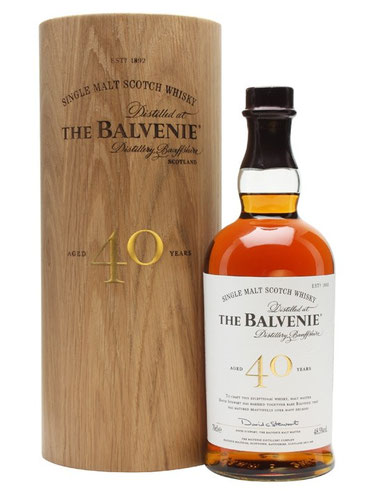 The Balvenie Whisky 40 Jahre