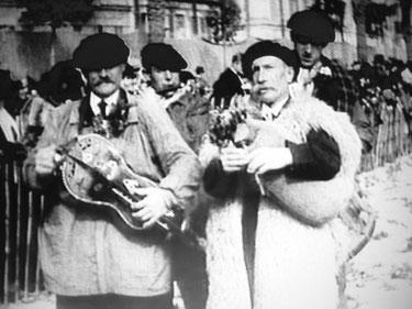 """Justin """"Jeanty"""" Benquet  """"lous bazadés"""" Nice 1932 - Gaumont Pathé"""