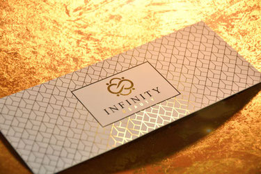 Infinity Beauty Geschenkgutschein gold