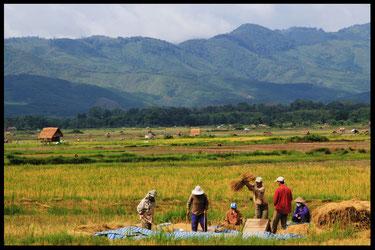 Carte du voyage à vélo au laos, laetitia, entreicietla, bike touring