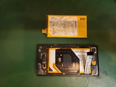 バッテリー取付けてブラッケット組戻した Xcompact