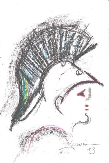 ATHENA tête casquée