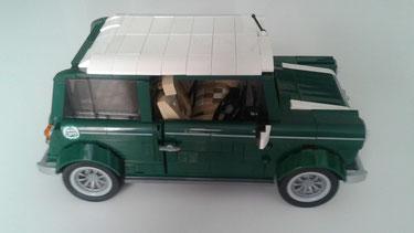 Carla ( Valladolid) Lego Mini Cooper