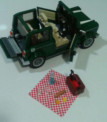 Carla (Valladolid) Lego Mini Cooper
