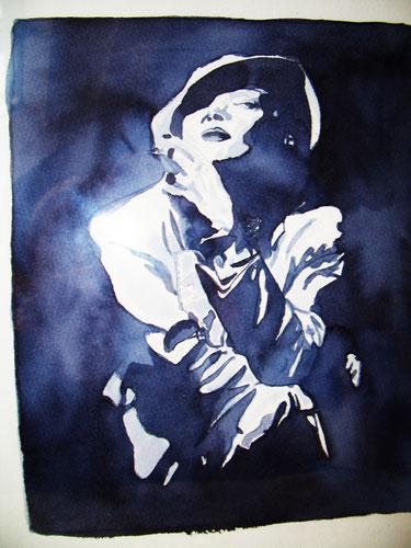 """Marlene Dietrich"" by Henny Lang"