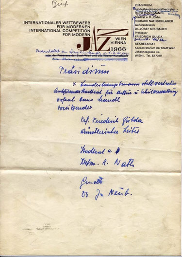 Briefpapier-Entwurf