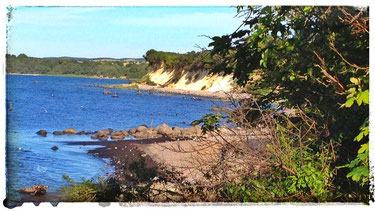 Steilküste Glowe befindet sich nahe des Ostseehafens