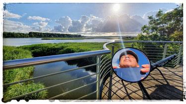 Sonnenaufgang am Spyker See Richtung Bobbin