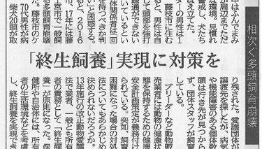 静岡新聞 中部版 7月25日