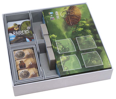 folded space insert organizer raiders of the north sea