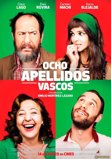 """""""Ocho apellidos vascos"""" entra en el Top 10 de las películas españolas más taquilleras"""