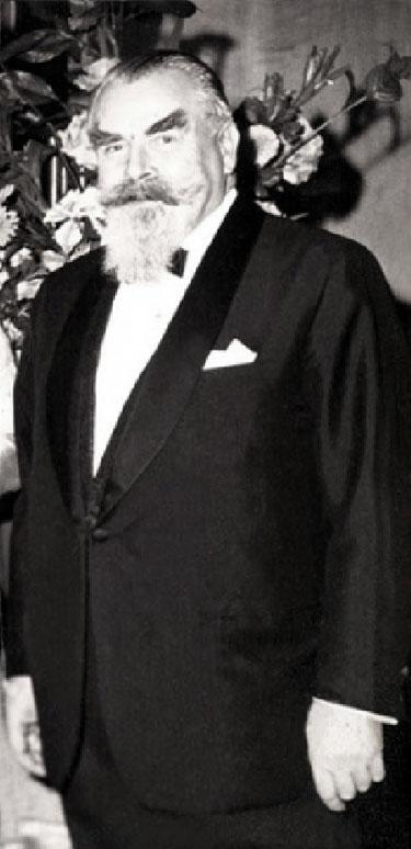 Desmon Tolhurst ( in later years ). Photo courtesy of Fiona Tolhurst ( Kim's grand-daughter ) & David Fester.