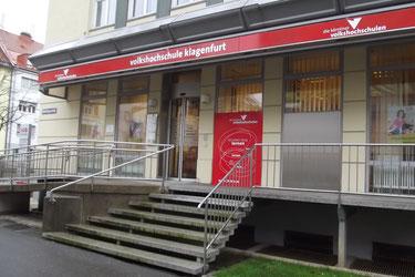 Die Kärntner Volkshochschulen in Klagenfurt       Foto: Norbert Wilke