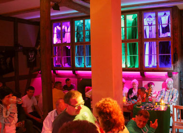 Spielmannshof Seitenroda Familienfeier in der Spelunke