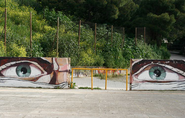 Graffiti: Augen