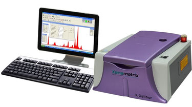 X-Calibur  Bench Top EDXRF Spectrometer: fast, accurate, easy to use