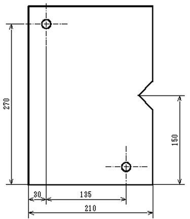 加工原点を変更して端面とピンの位置に関係性を持たせます。
