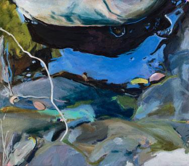 20.9.15 2015 70 x 80 cm Öl / Leinwand