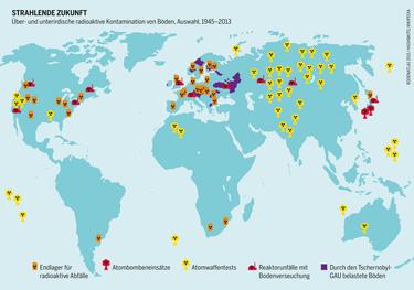 Endlager: beachte - bis heute ist kein einziges Enlager für hochradioaktive Abfälle in Betrieb
