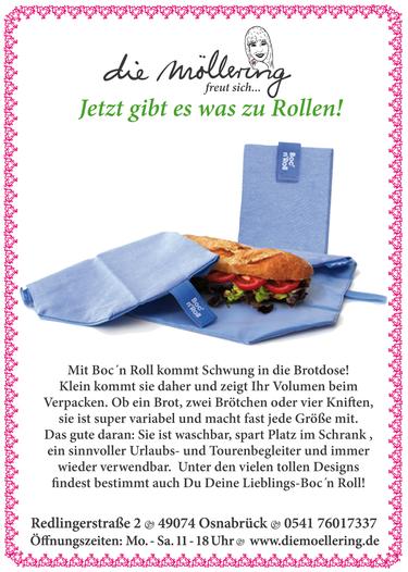 Textile Brotdose von Boc ´n Roll