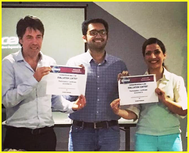 Toastmasters Nice winners in English