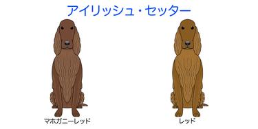 画像クリックで犬のイラスト全紹介-①ア行〜へ移動