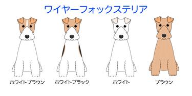 画像クリックで犬のイラスト紹介②-ハ行〜へ移動