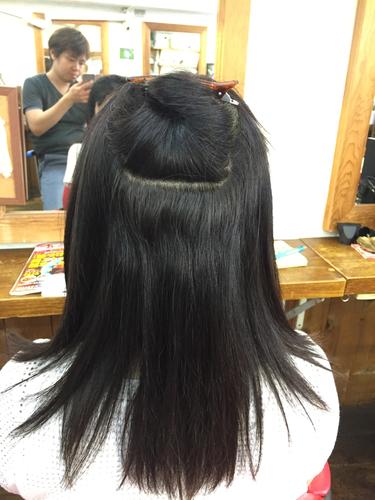 横浜の無責任美容師☆奥条勇紀☆強めの癖毛も伸びた部分だけが縮毛矯正の基本